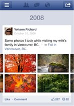 Facebook's Timeline now available on Android and mobile web