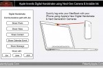 Apple patent reveals device data sharing via camera-based handshakes and invisible inks