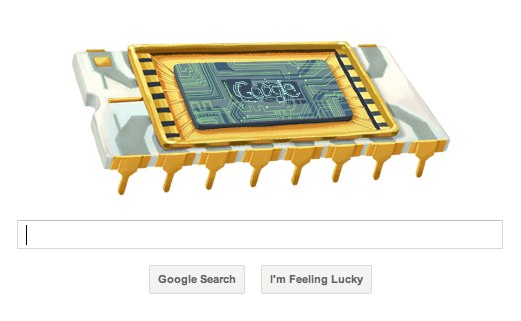 Google celebrates chip-father Robert Noyce with new doodle