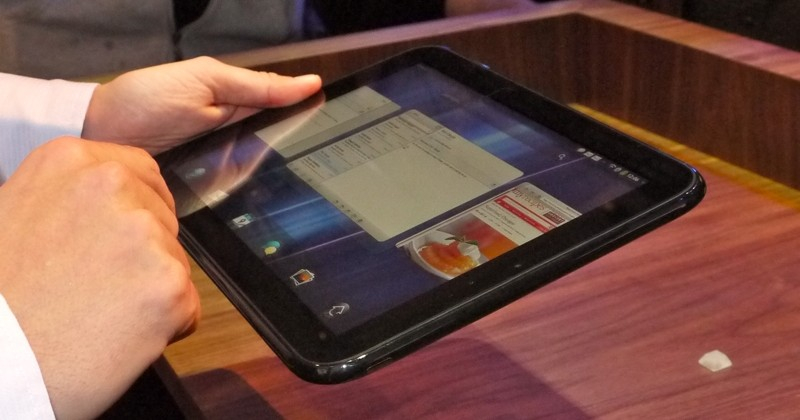 HP: webOS tablets could return in 2013