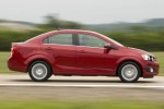 2012 Chevrolet Sonic recalled due to missing brake pads