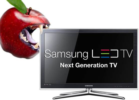 The Next Apple-Samsung Battle: TVs