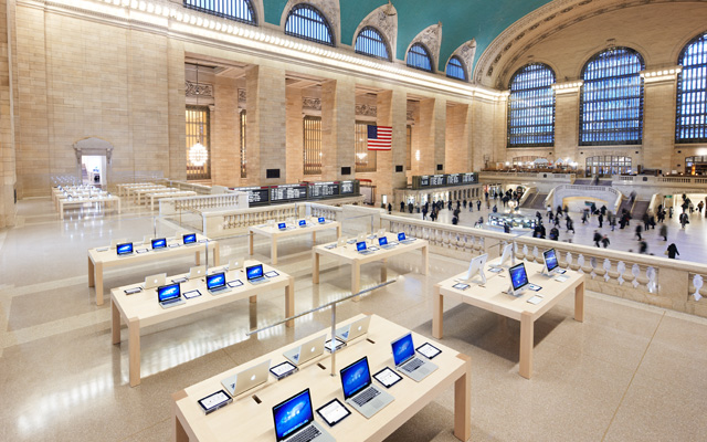 The Future of Retail: Apple's Grand Central Station Store