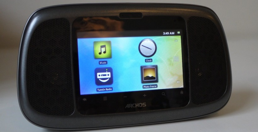 Archos Home Connect 35 Android clock/radio hits US
