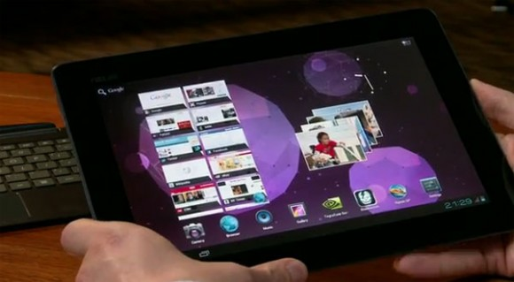 ASUS: ICS for Transformer Prime due Jan 2012