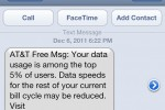 AT&T begins throttling heavy iPhone data usage to 2G speeds