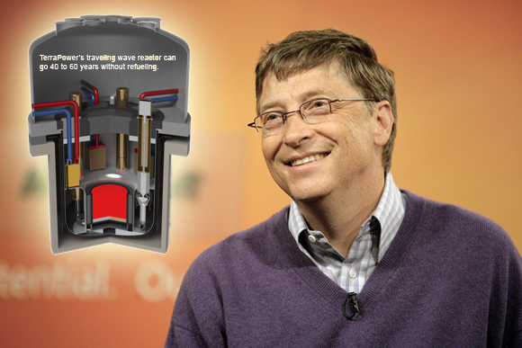 Bill Gates helping China build super-safe nuclear reactor