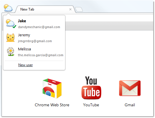 Google releases Chrome 16 update with multi-user sign-in