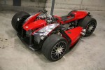 Ferrari-powered death machine is the way to go