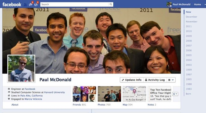 Facebook Timeline goes live worldwide
