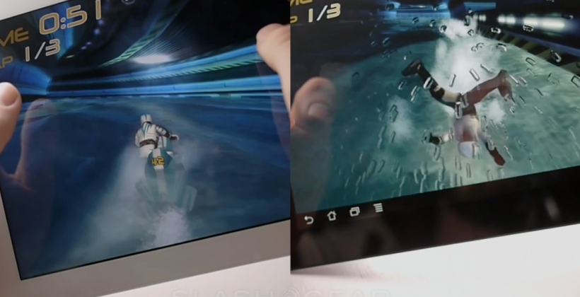 ASUS Transformer Prime vs iPad 2, side by side gaming