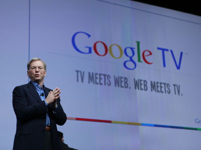 Google's Eric Schmidt envisions Google TV on majority of new TVs by summer of 2012