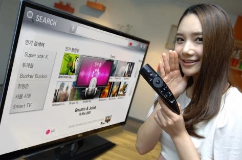 LG Magic Motion Remote Control revealed