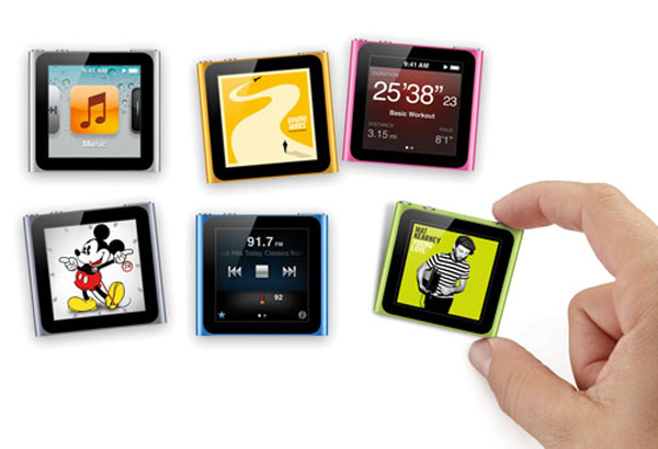 Apple might trade recalled 1G iPod nano with 6G version