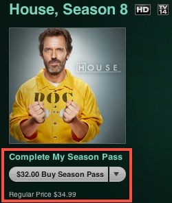 Apple launches 'Complete My Season Pass' for TV shows on
