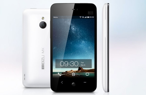 Meizu MX smartphone official: Pentaband HSPA+ and 1.4GHz dualcore