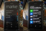 Nokia Collection section on Windows Phone Marketplace surfaces