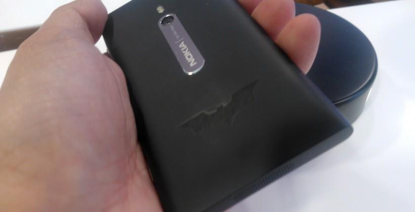 Nokia Batman Dark Knight Rises limited edition Lumia 800 revealed
