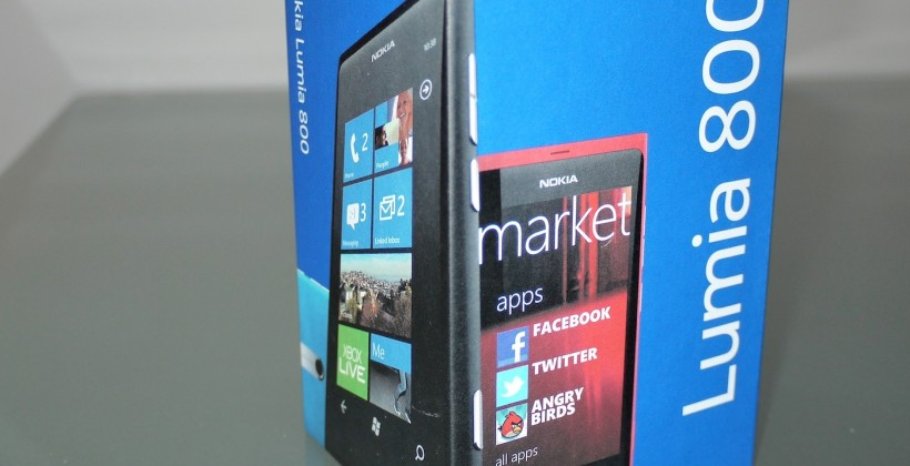 Nokia starting free developer Lumia 800 push next week