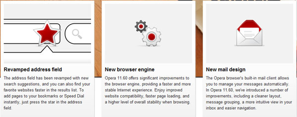 Opera 11.60 desktop browser launches