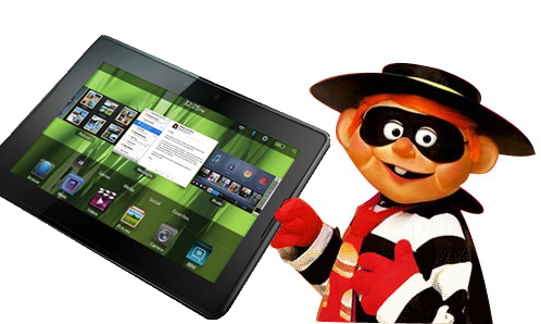 Unlucky thieves snatch $1.7m-worth of PlayBook tablets