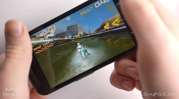 Verizon Galaxy Nexus Gaming Demo with Riptide GP and ShadowGun