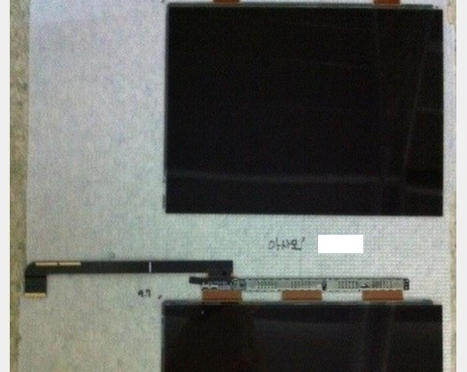 iPad 3 Retina Display photo leaked in Korean forum