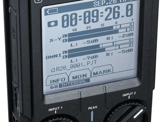Roland R-26 Portable Recorder officially shipped