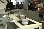 Robots make sandwiches and popcorn using voice command and Kinect