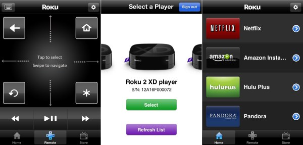 Roku intros its official iPhone remote control app