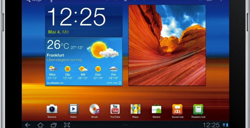 Apple complaint over Samsung Galaxy Tab 10.1N rejected