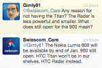 Nokia Lumia 900 launch date outed by Swisscom