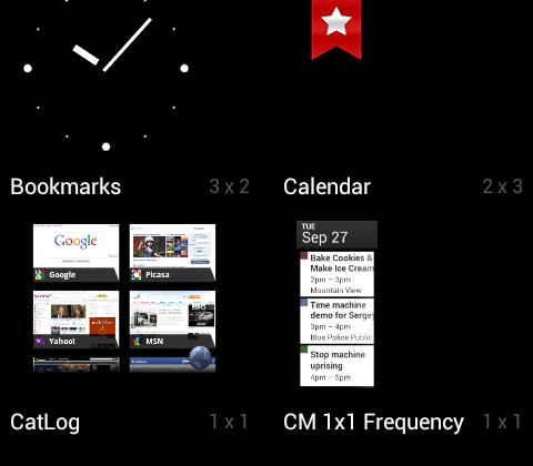 "Android 4.0 ICS hacks forge forward with CyanogenMod's ""Trebuchet"""