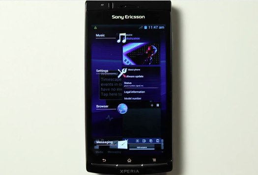 Sony Ericsson outs ICS alpha for XPERIA arc S, Ray and Neo V