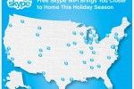 Skype offering free WiFi in NYC on New Year's Eve