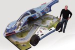 Slot Mods crams a slot car track inside replica RCR 917 racecar
