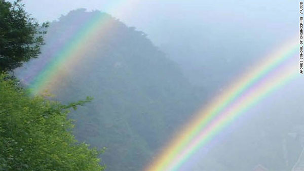 Researchers discover what makes a twin rainbow
