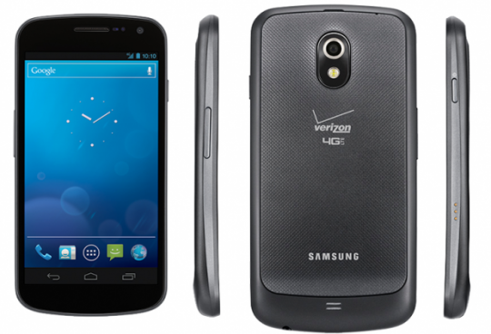 Verizon Galaxy Nexus announced for sale [UPDATE: Off-contract pricing included]