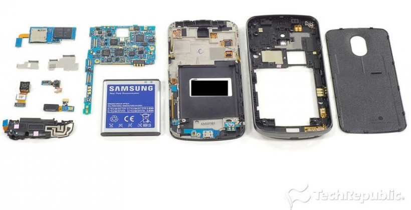 Verizon Galaxy Nexus gets teardown treatment