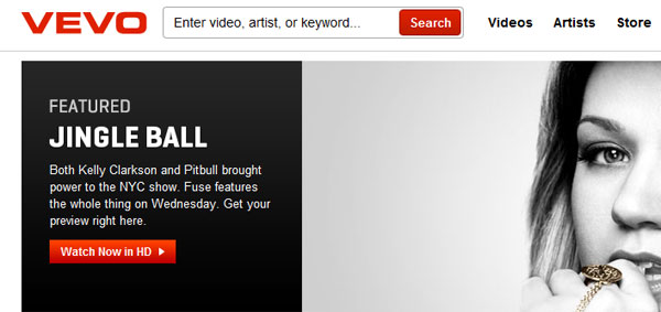 Music video site Vevo wants to be like MTV