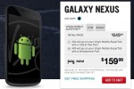 Galaxy Nexus on sale in Canada