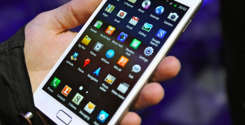 Samsung details ICS upgrades: GSII and Note in Q1 2012