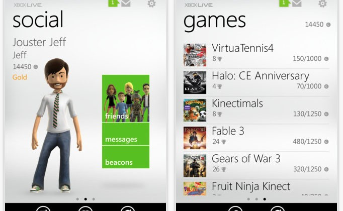 Xbox Live app now available for iPhone and iPad