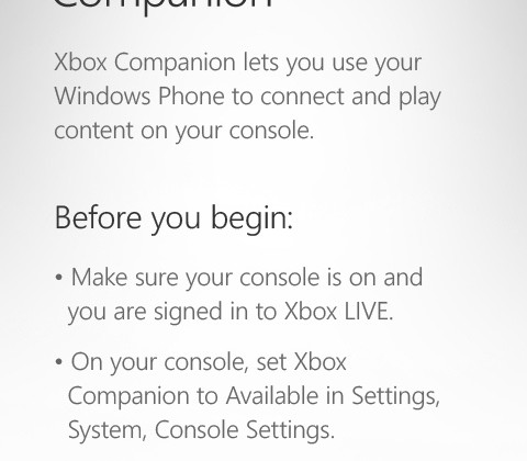 Xbox LIVE app turns Windows Phone into 360 remote