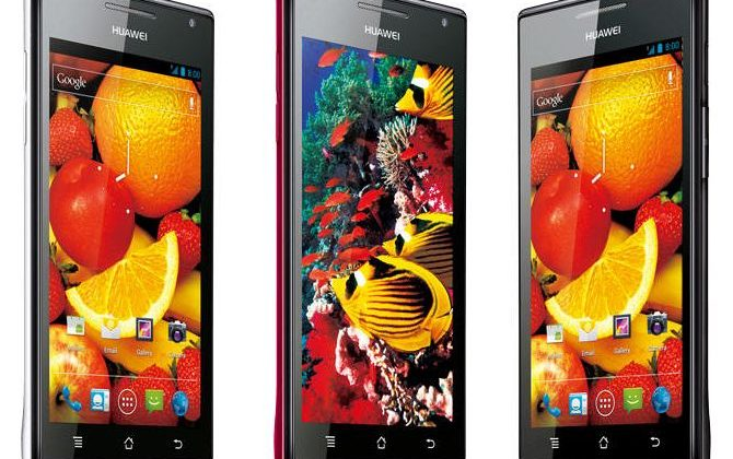 Huawei Ascend P1 S revealed as world's slimmest Android