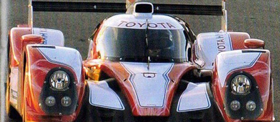 Toyota hybrid Le Mans race car teased in photos