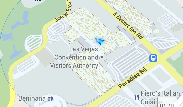 Google Maps brings indoor mapping to CES