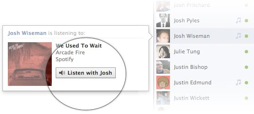 Facebook now lets you listen to music with friends and groups