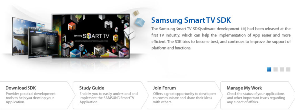 Samsung Smart TV SDK 3.0 entices developers with paid apps