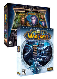 GameStop – Buy the World of Warcraft BattleChest, get Wrath of the Lich King free